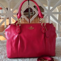 COACH Colette Leather Caryall F33447