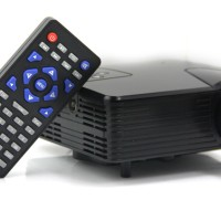 Proyektor Mini LED Projector H100 Projektor With TV Tuner 100 Lumens