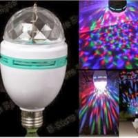 lampu disco led fitting / lampu disco time led rumah murah