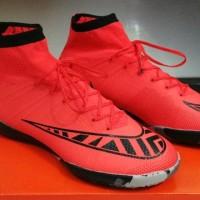 harga sepatu futsal nike mercurial superfly red grade ori import Tokopedia.com