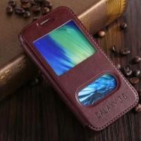harga Samsung Galaxy J5 KLX Leather Flip Case Flipcase Cover Flipcover Brown Tokopedia.com