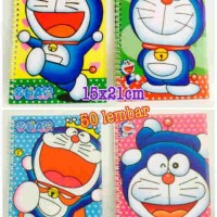 NTS03 - Buku Tulis Buku Memo Ring Buku Notes Spiral Doraemon