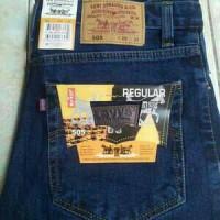 Jual celana jeans pria LEVI'S LEVIS 505 REGULER JUMBO no 33 34 35 36 37 38 Murah