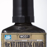 Mr. Weathering Color Multi Black WC-01