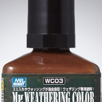 Mr. Weathering Color Stain Brown WC-03