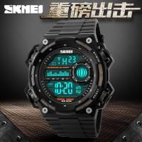 SKMEI S-Shock Militer Sport Watch WR50m DG1115 Black/Titanium 1115