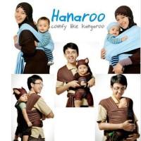Jual GENDONGAN BAYI HANARO - HANAROO BABYWRAP POLOS BABY WRAP KANGURU Murah