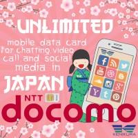 Japan Data Sim Card DOCOMO