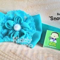 Bandana bayi jepit rambut anak bando anak baby headband snow white