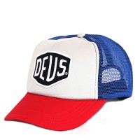 RICKS CAP / HAT / TOPI TRUCKER CUSTOME DEUS EX MACHINA 3.3 - BLUE