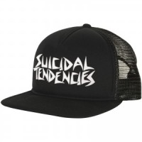 RICKS CAP / HAT / TOPI TRUCKER CUSTOME SUICIDAL TENDENCIES 1.2 - BLACK