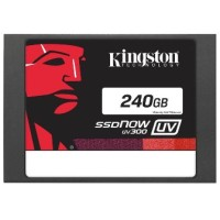 Kingston SSDNow V300 SATA 6Gb / S 240GB - SUV300S37A / 240G - Black