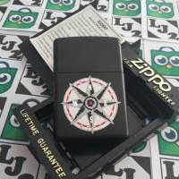 ZIPPO MARLBORO COMPAS BLACK MATTE NEW RARE EDITION (I XIII) 1997