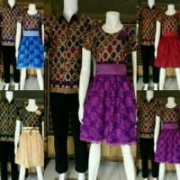Dress Batik / Baju Dress / Batik Dress / Dress / Dress Broklat / Dress Cantik