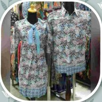 Dress / Baju Dress / Dress Batik / Dress Motif Bunga / Dress Elegant