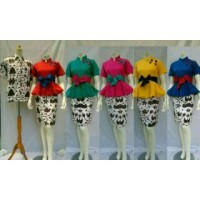 Dress / Baju Dress / Dress Batik / Dress Warna / Dress Modern