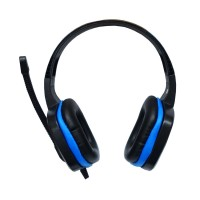 Sades SA-711 Headphone Gaming Extream Chopper - Hitam-Biru