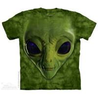 Kaos 3D The Mountain Dewasa Size XL - Green Alien Face