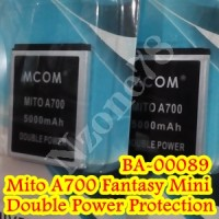 BATERAI MITO A700 FANTASY MINI BA-00089 MCOM DOUBLE POWER