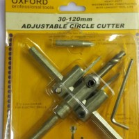 Hole Saw Adjustable Circle Cutter