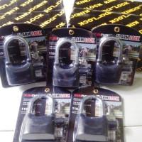 Gembok Alarm 12 Cm Kinbar / Gembok Alarm Pengaman Kendaraan dan Pengam