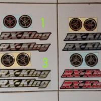 stiker motor logo & Rx king emblem