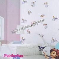 Wallpaper Dinding Kamar Anak Princess Sofia DREAM WORLD A5075-1