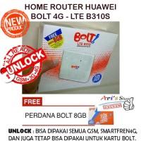 Jual HOME ROUTER HUAWEI B310S BOLT 4G LTE + PERDANA BOLT (NEW) ~MODEM MURAH Murah