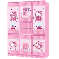 harga Lemari Pakaian 6 Pintu Hello Kitty Cutton Candy Tokopedia.com