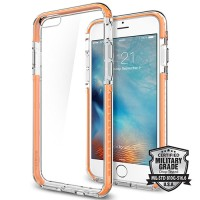 Spigen iPhone 6S Case Ultra Hybrid TECH - Crystal Orange