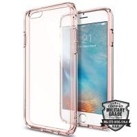 Spigen Ultra Hybrid iPhone 6S - Rose Crystal
