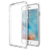 Spigen iPhone 6S Case Liquid Crystal - Crystal Clear