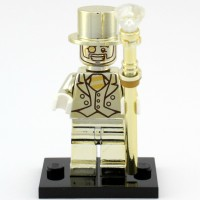 Lego Minifigure Series 10 Mr Gold (Sealed)