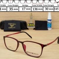 harga frame minus / frame emporio armani / frame kacamata / frame lentur new Tokopedia.com