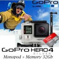 harga Gopro Hero4 Silver Edition Video Kamera + Mmc 32 Gb  Xiaomi Yi Sj Cam Tokopedia.com