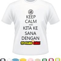 kaos keep calm dan lirik lagu dragon ball Indonesia