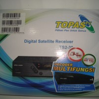 Receiver Parabola Topas TV HD (Prepaid) Free 2 Tahun All Channel