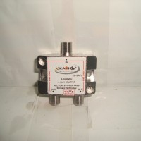 Splitter 2 Way untuk TV Kabel Kaonsat KSAP-2 Way (5-2400MHZ)