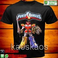 harga Kaos Power Rangers Megazord Ukuran Anak No.0,1,2 Tokopedia.com