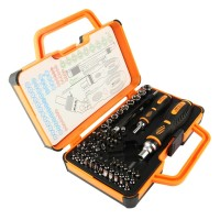 Perkakas Jakemy Obeng Magnet 69 In 1 Professional Tool Screwdriver Set