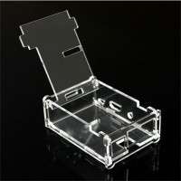 Jual Kotak Casing Raspberry Pi Model B+ Transparent Case for Pi 2 Murah