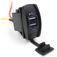 harga USB Charger Sepeda Motor 2 Port / Motorcycle Smartphone Charger Tokopedia.com