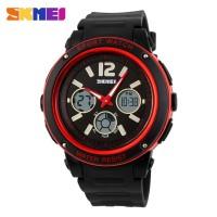 Jam Tangan Analog + Digital Casio Men Sport LED Watch SKMEI-1051