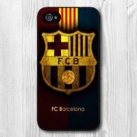 HARD CASE Football Barcelona print for iphone 4 4s