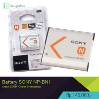 Baterai kamera sony cyber-shot / cybershot NP-BN1