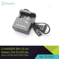 Charger Kamera Nikon MH-23 for EN-EL9 EN-EL9a D40 D60 D40X D5000 D3000