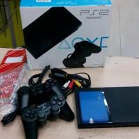 Sony PS2 Playstation Slim Multi Hardisk 60gb Full Games + Optik