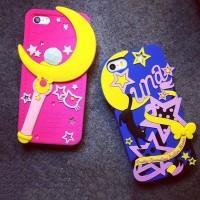 harga Silikon Soft Case / Backcase iPhone 5/5s - Sailor Moon Tokopedia.com
