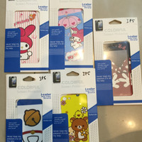 iphone 5/5s screen protector minie,hello kitty, doraemon