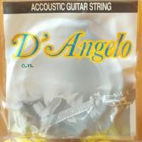 harga Senar Gitar Akustik D'Angelo Accoustic String (0.12) Tokopedia.com